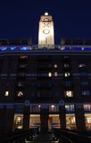Edifício OXO na noite em Londres Imagens de Stock