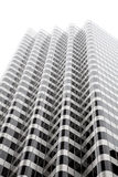 Edifício preto e branco Fotos de Stock Royalty Free