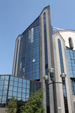 Edifício projetado no estilo alta tecnologia Fotografia de Stock