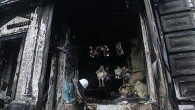 Edifício queimado filme