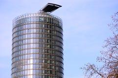 Edifício redondo do arranha-céus Fotografia de Stock Royalty Free