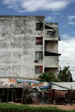 Edifício residencial Fotografia de Stock Royalty Free