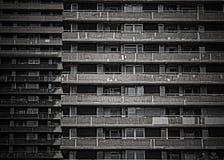 Edifício residencial da degradação Imagens de Stock