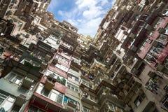 Edifício residencial de Hong Kong Fotografia de Stock