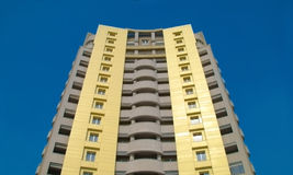 Edifício residencial novo Foto de Stock Royalty Free
