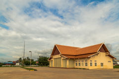 Edifício simétrico do Khmer Imagens de Stock Royalty Free