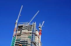 Edifício sob a construção Fotografia de Stock Royalty Free