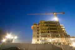 Edifício sob a construção Imagem de Stock Royalty Free