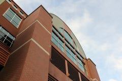Edifício superior arqueado Foto de Stock Royalty Free