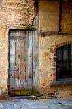 Edifício textured velho antigo imagem de stock