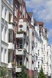 Edifício tradicional do apartement, Imagens de Stock