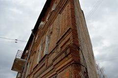 Edifício triangular Foto de Stock