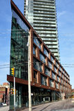 Edifício triangular Foto de Stock Royalty Free