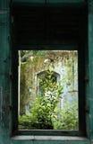 Edifício velho abandonado Fotos de Stock Royalty Free