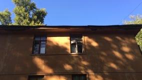 Edifício velho abandonado filme