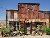 Edifício velho da cidade fantasma Foto de Stock Royalty Free