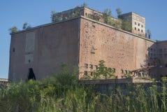 Edifício velho da fábrica Foto de Stock