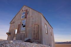 Edifício velho do moinho da mineração foto de stock royalty free