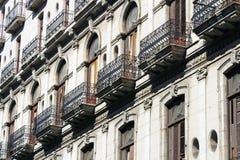 Edifício velho em Havana Fotos de Stock