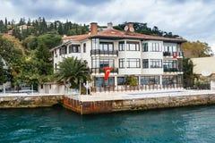 Edifício velho em Istambul Fotos de Stock Royalty Free