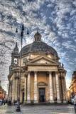 Edifício velho em Roma Fotos de Stock Royalty Free