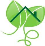 Edifício verde Imagens de Stock Royalty Free