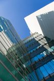 Edifício verde   Fotografia de Stock Royalty Free