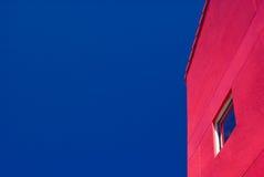 Edifício vermelho Imagens de Stock Royalty Free