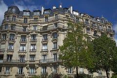 Edifício vivo tradicional, Paris Imagens de Stock