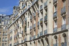 Edifício vivo tradicional, Paris Imagem de Stock