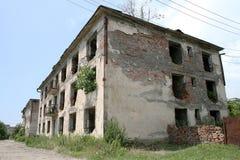 Edifícios abandonados Foto de Stock Royalty Free