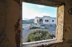 Edifícios abandonados Fotografia de Stock Royalty Free