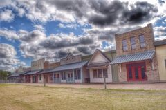 Edifícios abandonados Foto de Stock