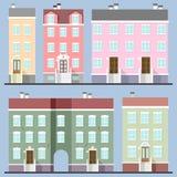 Edifícios ajustados Foto de Stock