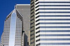 Edifícios altos em Chicago fotografia de stock