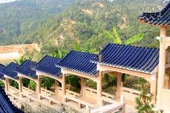 Edifícios chineses Fotos de Stock