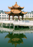 Edifícios chineses Foto de Stock Royalty Free