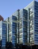 Edifícios cianos Fotografia de Stock