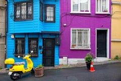 Edifícios coloridos Imagens de Stock Royalty Free
