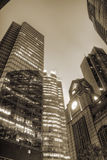 Edifícios corporativos Imagens de Stock Royalty Free
