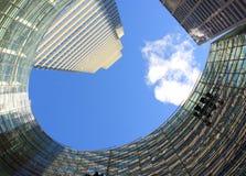 Edifícios corporativos Foto de Stock Royalty Free