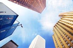 Edifícios corporativos Imagem de Stock Royalty Free