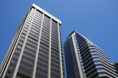 Edifícios corporativos Fotografia de Stock Royalty Free