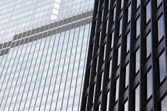 Edifícios corporativos modernos Imagem de Stock Royalty Free
