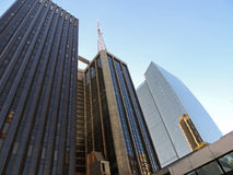 Edifícios corporativos modernos Fotos de Stock Royalty Free