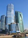 Edifícios da área Imagem de Stock