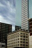 Edifícios da cidade foto de stock royalty free