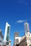Edifícios da cidade de Perth Fotos de Stock Royalty Free