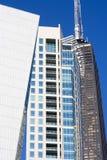 Edifícios dados forma estranhos em Chicago Fotografia de Stock