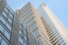 Edifícios de apartamento do Highrise em Chicago Fotografia de Stock